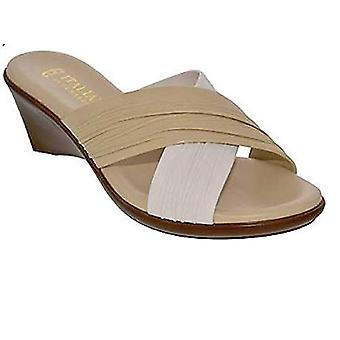 ITALIAN Shoemakers Womens Softy Open Toe Casual Platform Sandals