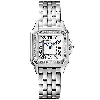 Cartier Frauen's Panthere Weiße Uhr - W4PN0008