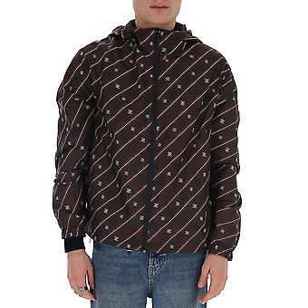 Fendi Faa615aaa7f1a0i Men's Brown Polyester Outerwear Jacket