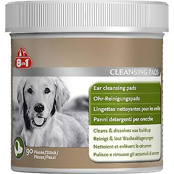 Tetra 8-In-1 Dog Ear Cleansing Pads (Pack of 90)