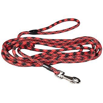Арппе Redondo нейлон ремешок 10M красный / черный (собаки, воротники, ведет и подвесные, ведет)