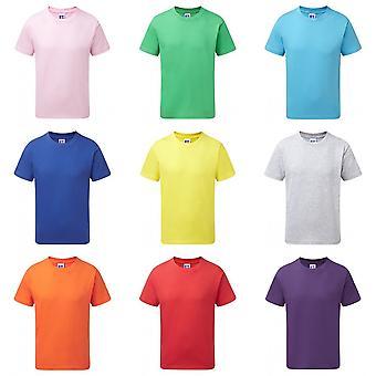 Russell Childrens/Kids Slim Short Sleeve T-Shirt