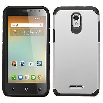ASMYNA Astronoot Phone Case for Alcatel OneTouch ELEVATE - Silver/Black
