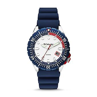 Columbia CSC04-003 Mens Pacific Outlander Navy Silicone Wristwatch
