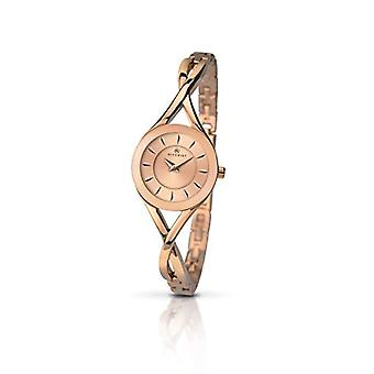 Accurist Quartz analogue watch woman with strap brass 8137.01