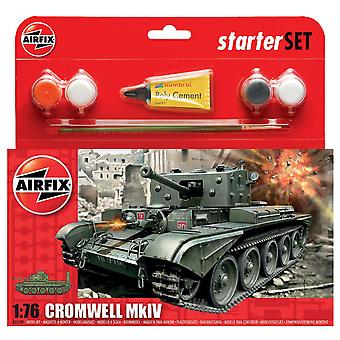 Airfix A55109 1:72 Cromwell MkIV Tank Starter Set Model Kit