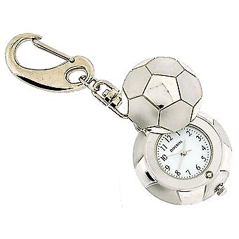 GTP Unisex Novelty Football With Cover Clock Keyring An Ideal Gift  IMP718