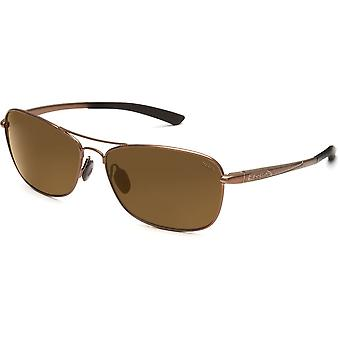 Bolle Ventura Sunglasses (TLB Dark, Shiny Light Brown)