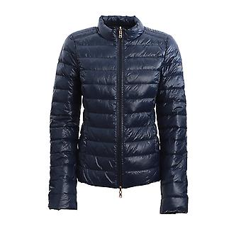 Patrizia Pepe Cs0178a503c789 Women's Blue Nylon Down Jacket