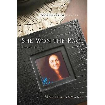 She Won the Race Footprints of Cancer by Axmann & Martha