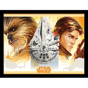 Solo A Star Wars Story Falcon Legacy Framed Plate 30*40cm
