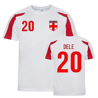 Dele Alli England Sports Training Jersey (Hvid-Rød)