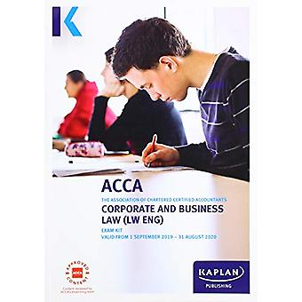 CORPORATE AND BUSINESS LAW (ENG) - EXAM KIT by KAPLAN PUBLISHING - 97