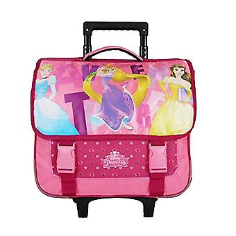 Bagtrotter PRINI18TRIO Princess Backpack Trolley - size-38 x 14 x 33 cm - Ancient Rose