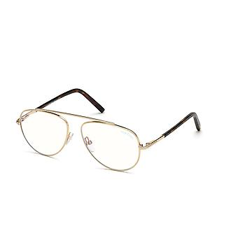 Tom Ford TF5622-B 028 Shiny Rose Gold Glasses