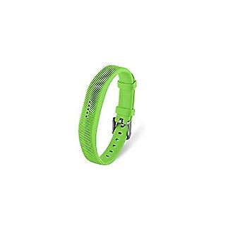 Replacement Wristband Bracelet Strap Band for Fitbit Flex 2 Classic Buckle[Large,Green] BUY 2 GET 1 FREE