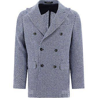 Pulito Pe2300gimichele34 Men's Blue Wool Blazer