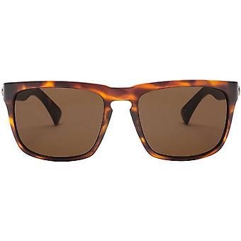 Electric California Knoxville Sunglasses - Matte Tortoise Shell/Ohm Bronze