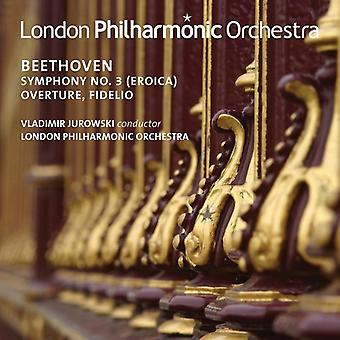 Beethoven / London Philharmonic Orchestra - Ludwig Van Beethoven: Symphony No 3 Overture [CD] USA import