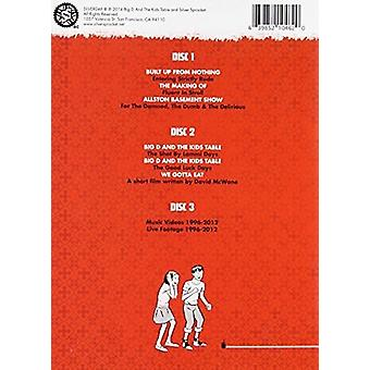 Big D & the Kids Table - Big DVD [DVD] USA import