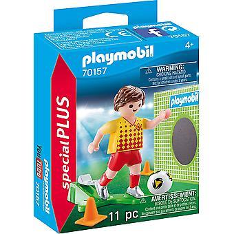Playmobil 70157 Special Plus fotbollsspelare med mål
