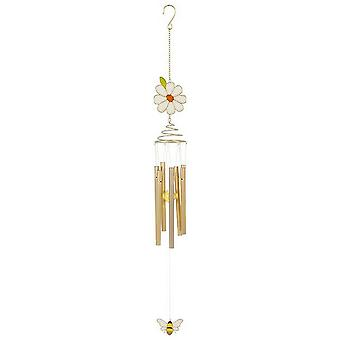 Something Different Daisy Spiral Windchime