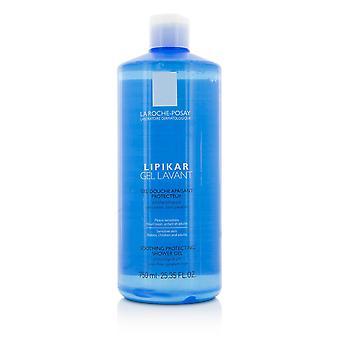 Lipikar gel lavant soothing protecting shower gel 209663 750ml/25.35oz