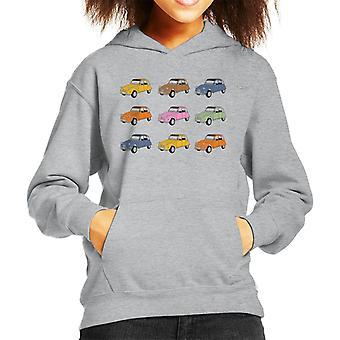 Citro�n Vintage 2CV Colours Kid's Hooded Sweatshirt