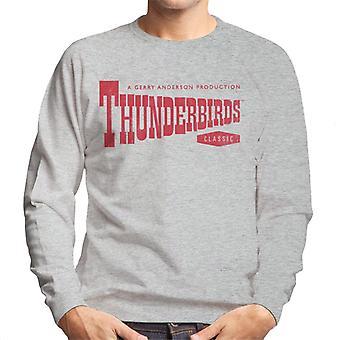 Thunderbirds Classic logo miesten ' s College pusero