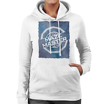 The Crystal Maze Full Colour Women's Hooded Sweatshirt