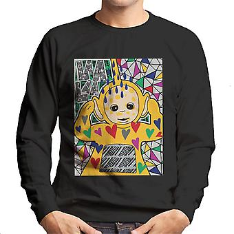Teletubbies Laa Laa Hearts Men's Sweatshirt