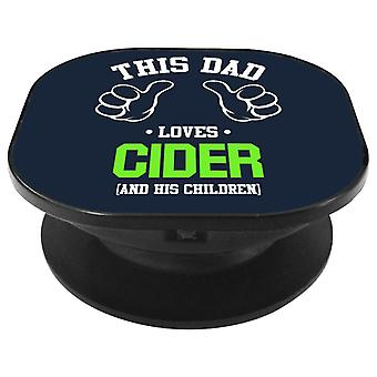 This Dad Loves Cider And His Children Phone Grip