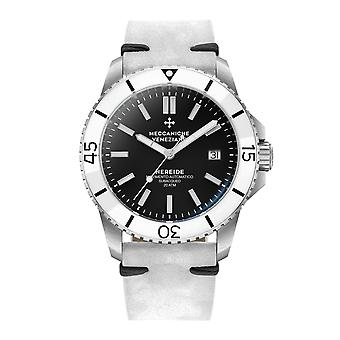 Meccaniche Veneziane 1302007 Nereide White Bezel Automatic Wristwatch