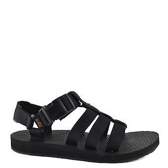 Teva Original Dorado Black Sandal