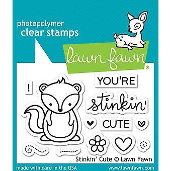 Lawn Fawn clear Briefmarken - Stinkin' niedlich