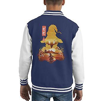 Final Fantasy Vivi Orunitia Ukiyo Kid's Varsity Jacket