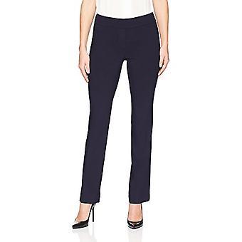 Merkki - Lark & Ro Women's Barely Bootcut Stretch Pant: Comfort Fit, Navy, 8S