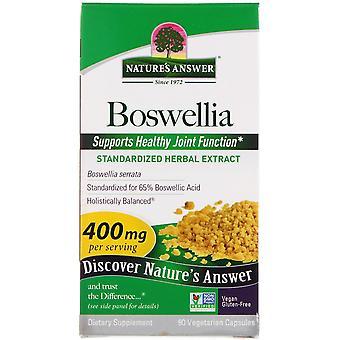 Respuesta de Nature's, Boswellia, 400 mg, 90 Cápsulas Vegetarianas
