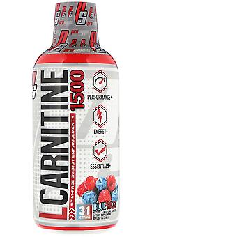 ProSupps, L-Carnitine 1500, Blue Razz, 1.500 mg, 16 fl oz (473 ml)