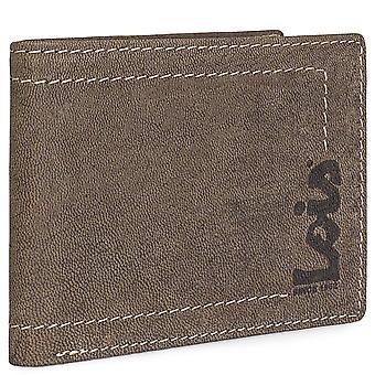 Äkta läder horisontella mäns plånbok Modeldebauch