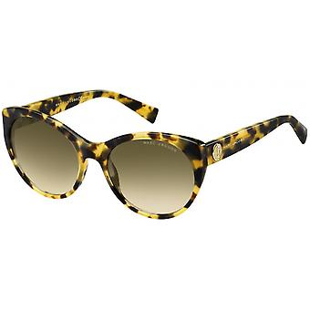Sunglasses Women's Cat Eye Havana Honey