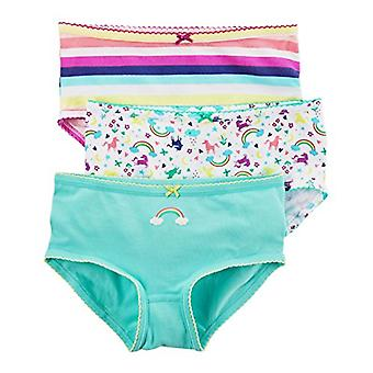 Carter's Little Girl's 3-Pack Stretch Cotton Panties (8, Rainbow (43309411-11...
