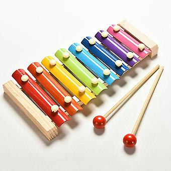 Music Instrument Wooden Xylophone Musical Funny Toys For Baby / Girls