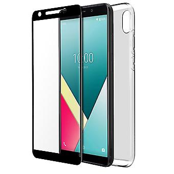 Back cover for Wiko Y61/original tempered glass film