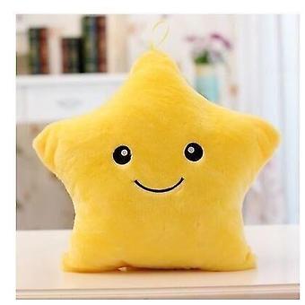 Kissen glühende Kissen Plüsch Puppe Stern Mond LED Licht Spielzeug für Mädchen Kinder