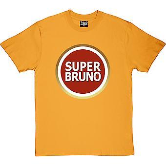 Super Bruno Yellow Men's T-Shirt