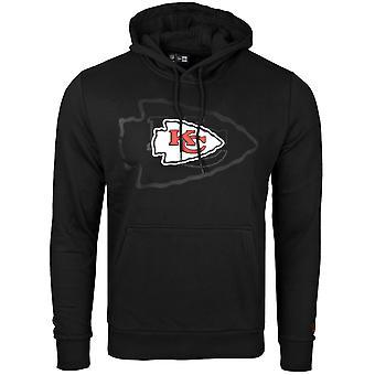 New Era Fleece Huppari - NFL Kansas City Chiefs 2.0 musta