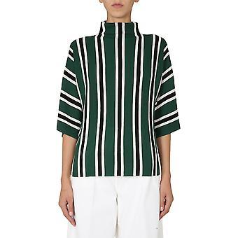 Aspesi 5038496701503 Mulheres 'suéter de lã azul/verde