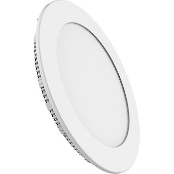 Inspiriert Techtouch - Intego R Aufsicht - Einbau Downlight Runde 12 Zoll 24W natürliche weiß 4000K, 2000lm, white Frame, Inc. Treiber
