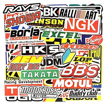 100 Pcs Graffiti Jdm Racing Car Modification Waterproof, Moto, Vélo